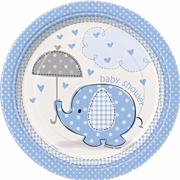 Blue Umbrellaphants